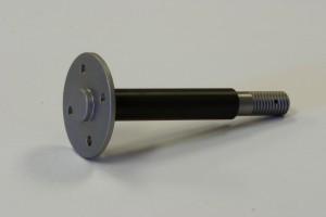 Aluminum turned pedestal valve